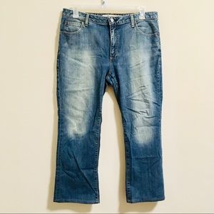 GAP Bootcut Distressed Jeans 14